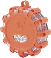 LED-Warnlicht WL-9 orange; B x H x T mm: 105 x 105 x 35;